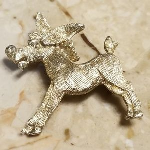 Vintage Glamour Donkey Pin